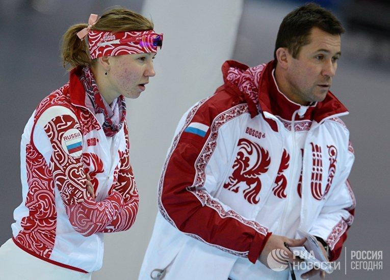 Олимпиада 2014. Конькобежный спорт. Тренировки