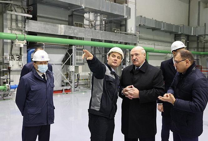 Лукашенко открыл БелАЭС