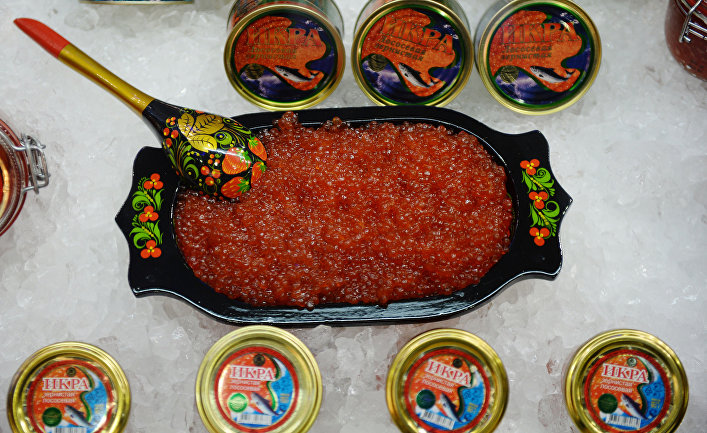 Российская консервированная икра