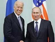 Владимир Путин встречается с Джозефом Байденом в Москве