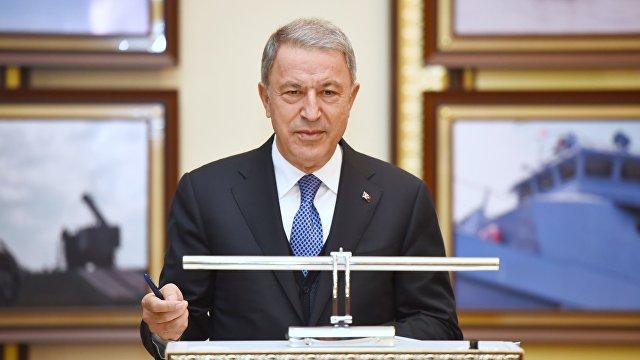 Министр национальной обороны Турции Акар: мы за скорейшее прекращение напряженности между Россией и Украиной (Anadolu, Турция)