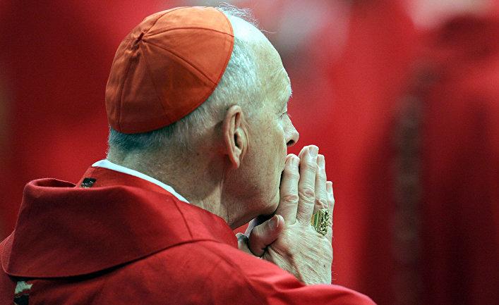 Американский кардинал Теодор Маккэррик