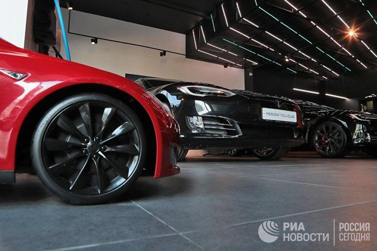Автомобильный салон Moscow Tesla Club