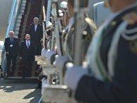 Рабочий визит президента РФ В.Путина в Иран