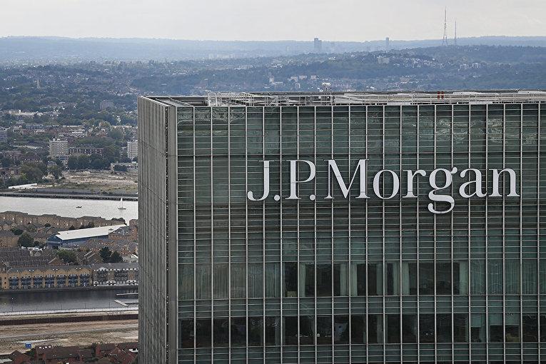Офис инвестиционно-банковской компании J. P. Morgan в Лондоне