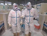 Московская больница для больных коронавирусом