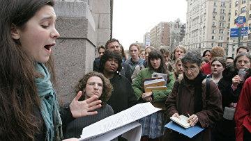 Бари Вайс выступает в Нью-Йорке