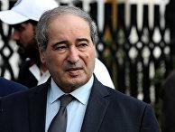 Заместитель министра иностранных дел Сирии Фейсал Микдад