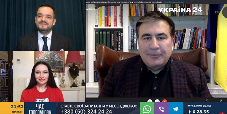 Михаил Саакашвили на #Украина24