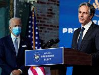 Кандидат избранного президента США Джо Байдена на пост госсекретаря Энтони Блинкен