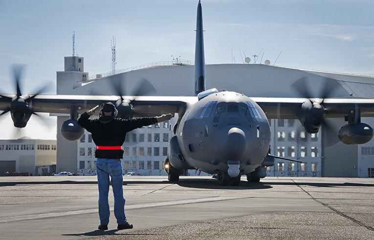 Военно-транспортный самолёт MC-130