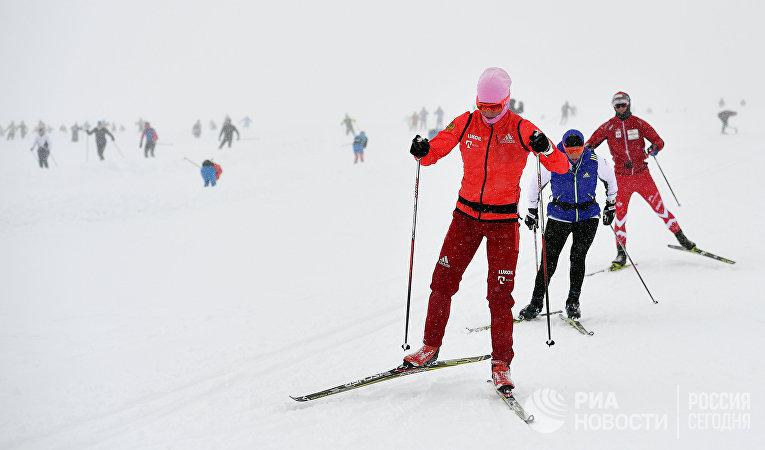 Тренировочный сбор сборной России по лыжным гонкам в Австрии
