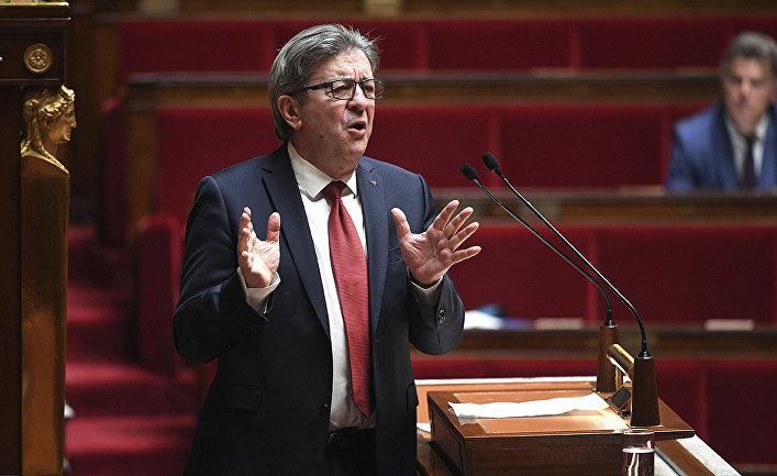 Лидер французской партии LFI Жан-Люк Меланшон