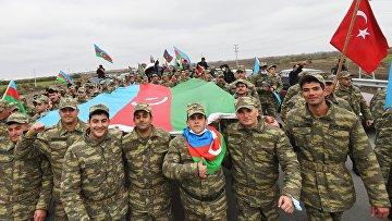 Празднования в Азербайджане по случаю возвращения Лачинского района