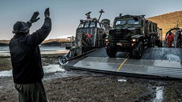 Американская военная техника на учениях НАТО в Северной Норвегии