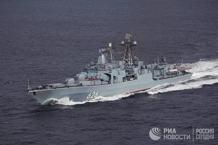 "Противолодочный корабль ""Вице-адмирал Кулаков"""