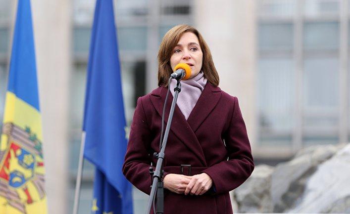 Антиправительственная акция в Кишиневе