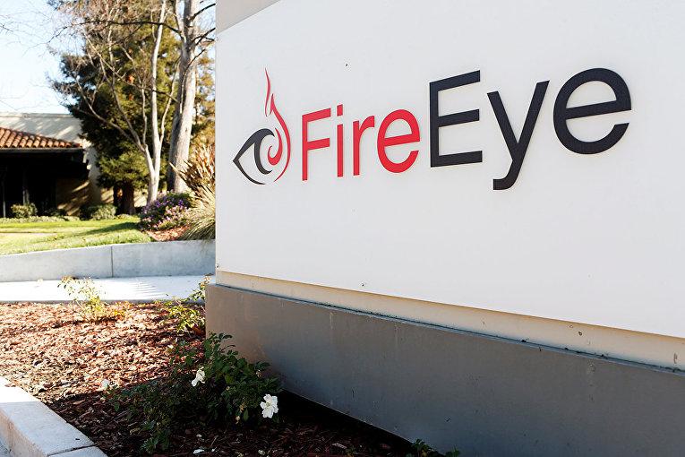 Логотип компании FireEye в Милпитасе, штат Калифорния
