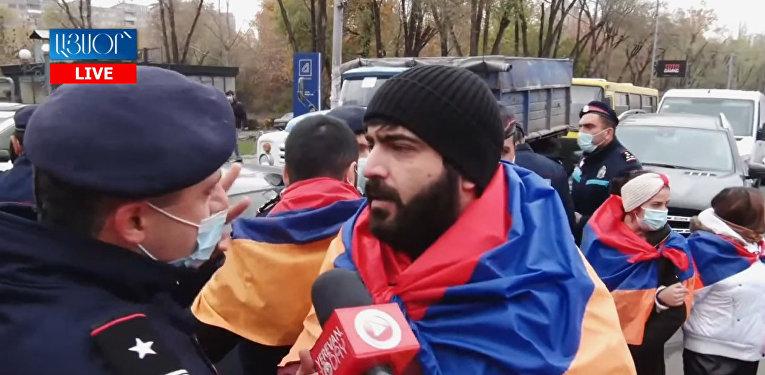 В Ереване начались акции гражданского неповиновения