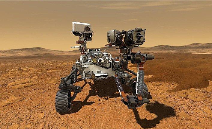 Марсоход НАСА «Персеверанс»