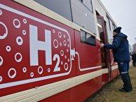 Трамвай на водородном топливе в Санкт-Петербурге