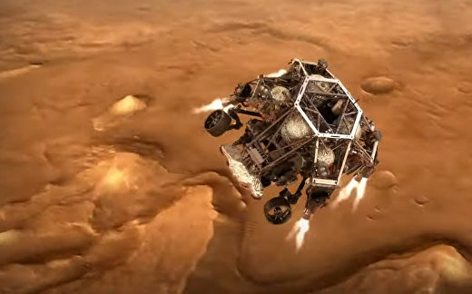 NASA выпустило захватывающий трейлер будущей посадки марсохода на Красную планету