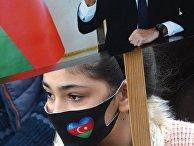 Празднование в Гяндже передачи Кельбаджарского района Азербайджану