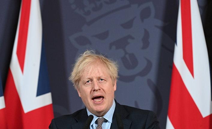 24 декабря 2020. Премьер-министр Великобритании Борис Джонсон выступает по поводу сделки с ЕС по Брекситу