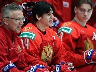 Командное фотографирование молодежной сборной России по хоккею