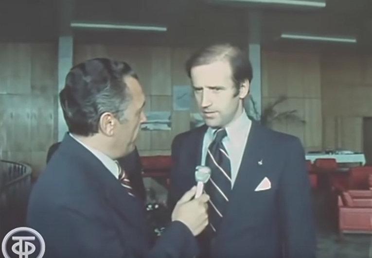 Джо Байден в СССР 31 августа 1979
