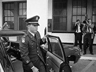 Лейтенант США Уильям Келли в Форт-Беннинг, штат Джорджия