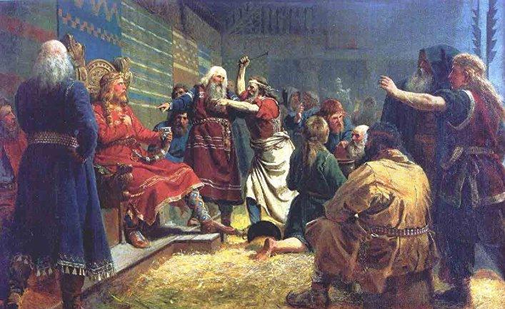 «Хокон Добрый», художник Петер Николай Арбо, 1860