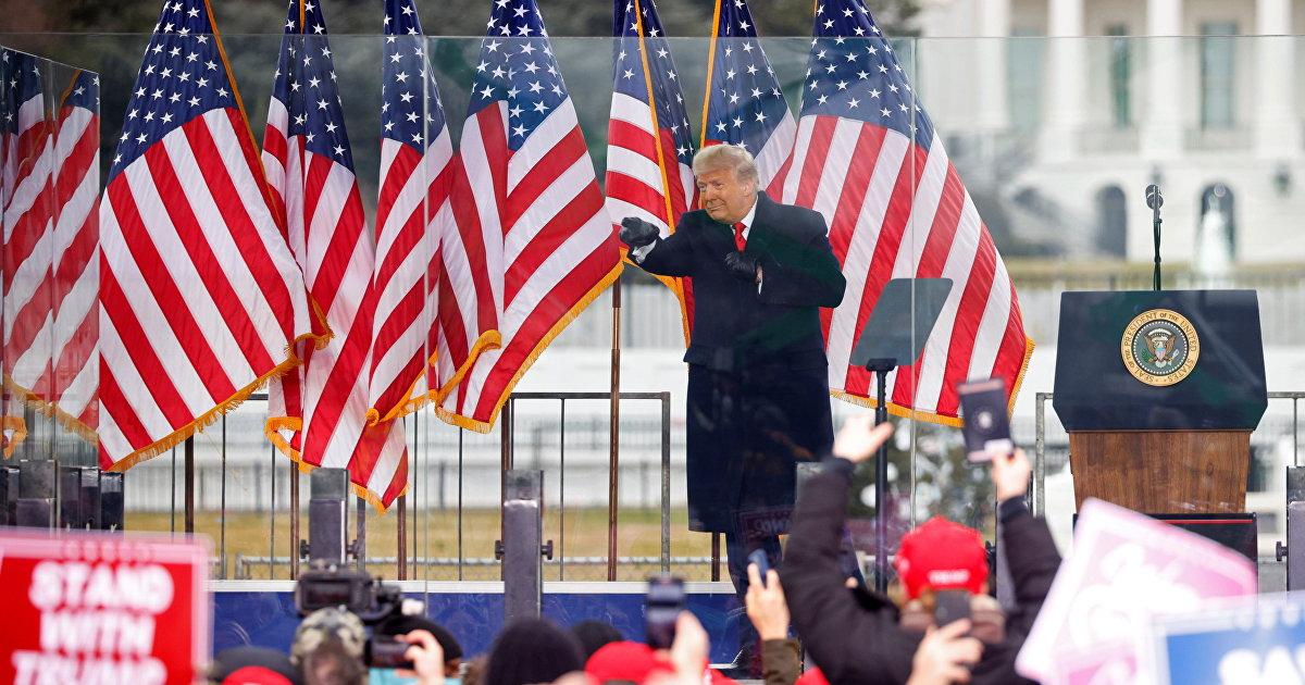 Речь Дональда Трампа на митинге «Спасем Америку» 6 января