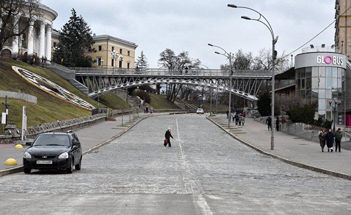 Ужесточение карантинных мер на Украине