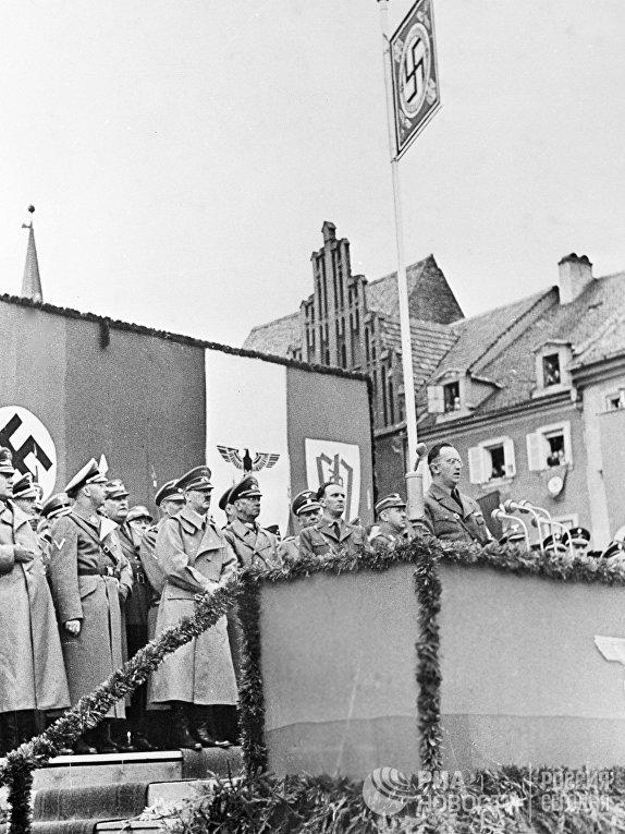 Аннексия Судетской области Чехословакии 1938 год.