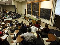 Студенты в Университете Колорадо в Боулдере