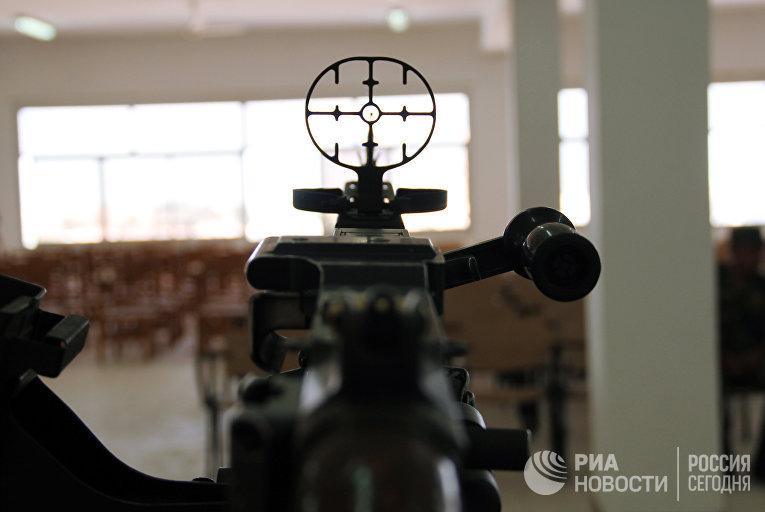 """Выставка вооружений в рамках совместных российско-египетских антитеррористических учений """"Защитники дружбы - 2016"""" в Египте"""