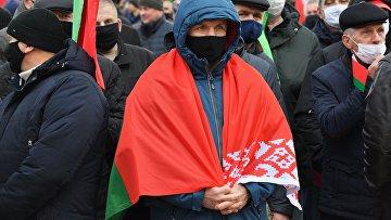 Акции пенсионеров в Минске