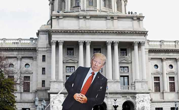Демонстрации в преддверии инаугурации Байдена в Вашингтоне