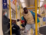 Пранк в лондонском метро