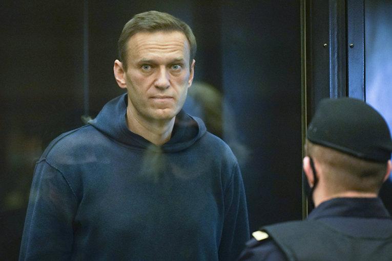 Заседание суда по делу А. Навального
