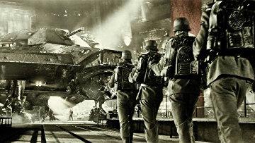 Кадр из фильма «Железное небо»