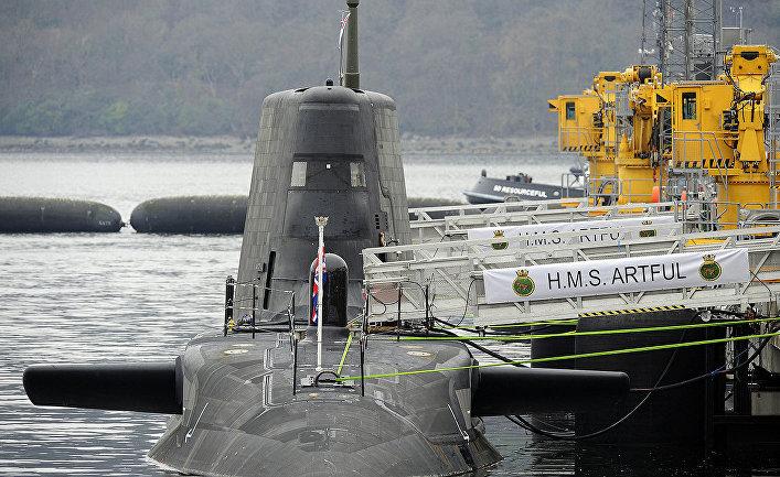 Атомная подводная лодка HMS «Artful» (S121)