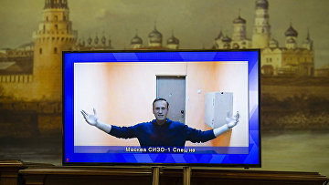 Алексей Навальный, находящийся в СИЗО-1 Москвы