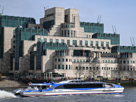Здание Секретной разведывательной службы МИ-6 в Лондоне