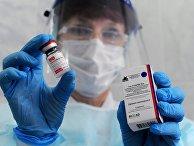 Вакцинация от коронавируса сотрудников ОМОН в Тамбове
