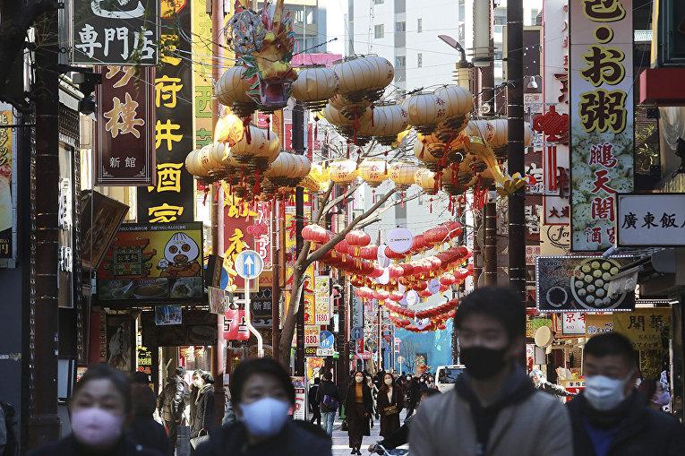 Улица в Иокогаме, Япония