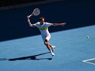 Теннис. Открытый чемпионат Австралии - 2021. Матч А. Рублев - Д. Медведев
