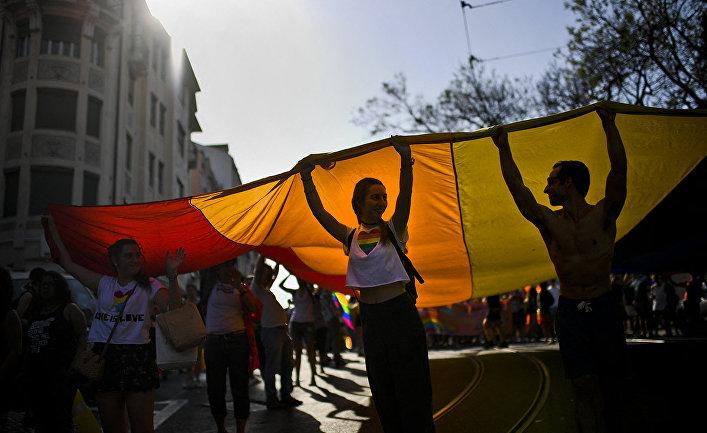 Гей-парад в Лиссабоне, Португалия