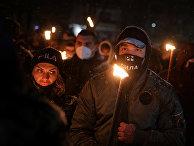Марш в память о Христо Лукове в Софии, Болгария